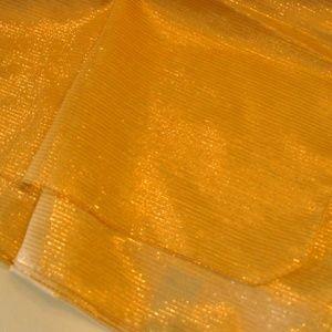Beautiful Goldtone Shawl/Wrap/Scarf