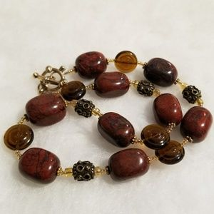 Butternut beads