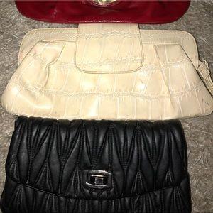 Handbags - 3 Clutches for a bundle!