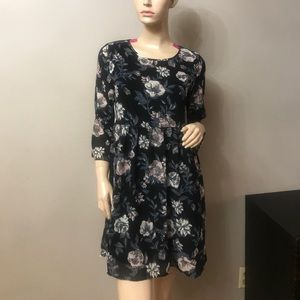 BEAUTIFUL FLORAL MINI DRESS
