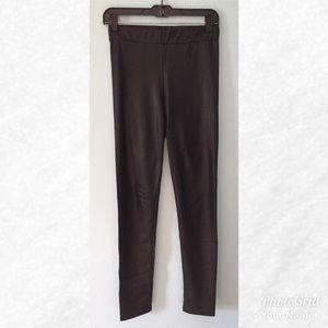Pants - Black Matte Leggings