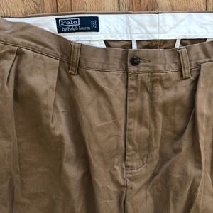 Polo Ralph Lauren dark khaki pants
