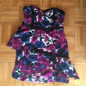 Floral mini dress by Kimchi Blue Urban Outfitters