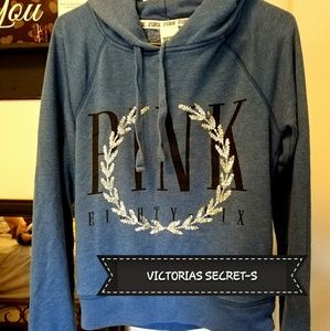 Victoria's Secret PINK Pull Over Hoodie Size Small