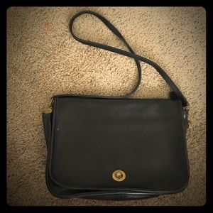 Vintage Coach leather purse