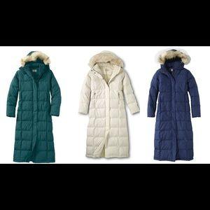 91a51fd3d $269 L.L. Bean Ultrawarm Long Coat Burgundy Medium