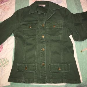 Vintage Green Denim Chadwick's jacket