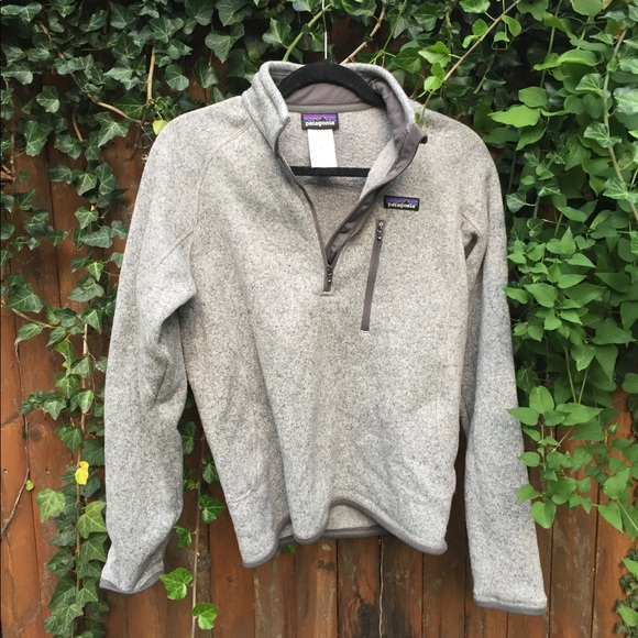 Patagonia Jackets Coats Mens Better Sweater 14 Zip Fleece Poshmark