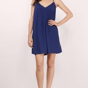 Tobi navy blue tank dress