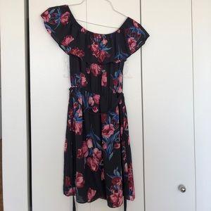 Everly Floral Off-Shoulder Dress