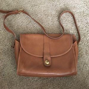 Vintage Coach satchel purse.
