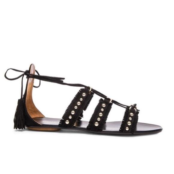 Aquazzura Shoes - Aquazurra Tulum Flat Sandal