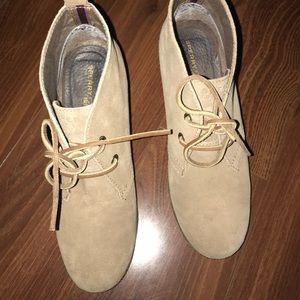 Sperry Top-Sider Harlow suede wedge shoe