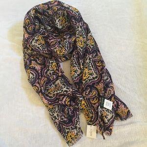 NWT jcrew printed scarf