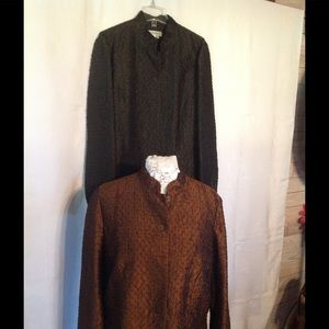 Two Coldwater Creek Blazer Jacket Bundle