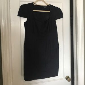 French connection dress (navy, size 12)