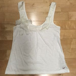 Hollister Tank with chiffon detail