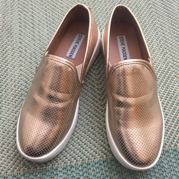 35e22d08f33 Steve Madden Gracy Rose Leather Platform Shoes 7. M 59ecf10a78b31c5e0b096d66
