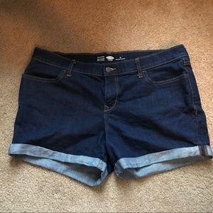 Old Navy Cuffed Denim Shorts