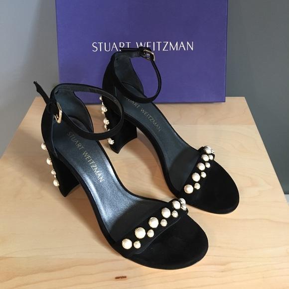 Stuart Weitzman Morepearls Sandal Heels