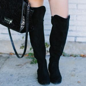 8595359b73b Macy s Shoes - Hadley Black Over the Knee Boots - Style ...