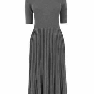 b9798c66c29 Oasis from Asos Dresses - Oasis Modest Pleated Midi Knit Sweater Dress M