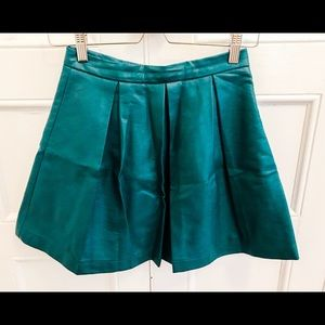 French connection pleather short skirt