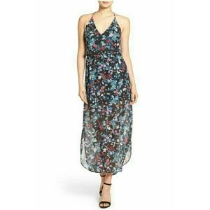 EUC Lush Surplice Maxi Dress