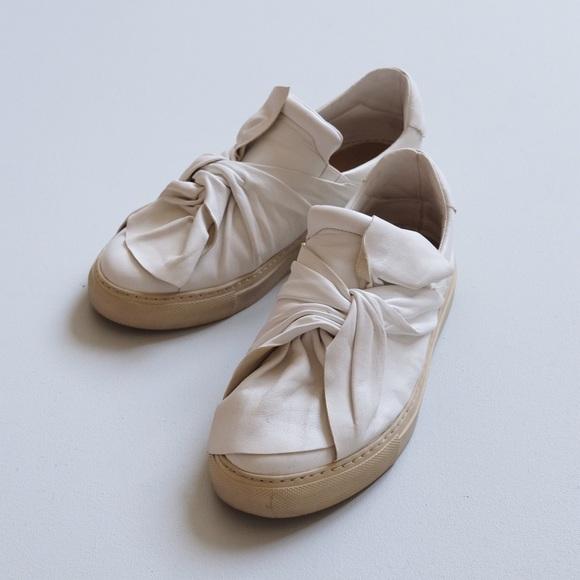 1961 Poshmark Tie Slipon Ports Wrap Knot ShoesBow Sneaker IE92YWHD