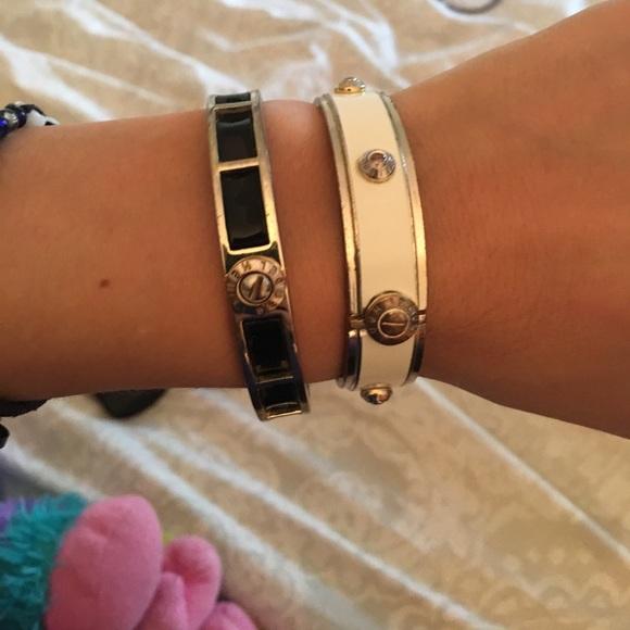 Henri Bendel Jewelry Two Bangle Bracelets Poshmark