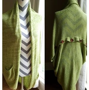 Sweaters - Like New CARDIGAN PONCHO Sweater Duster M