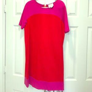 Kate Spade colorblock dress