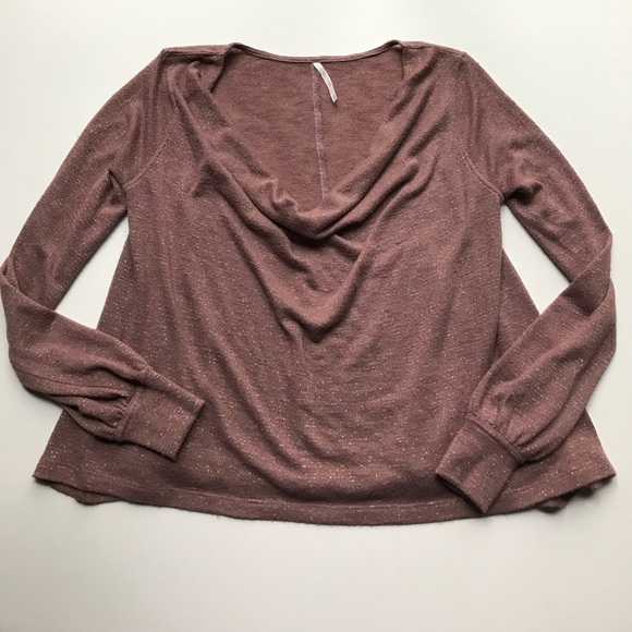 489d14c91493e4 Free People Tops - Free People Shimmer Jersey Palmer Top