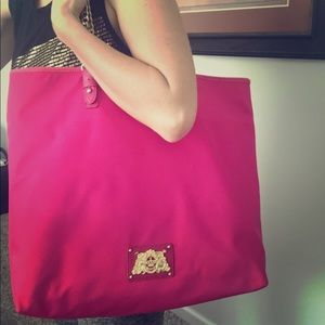 NWT juicy couture hot pink tote- beautiful bag!!