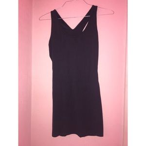 NWT navy blue casual bodycon dress