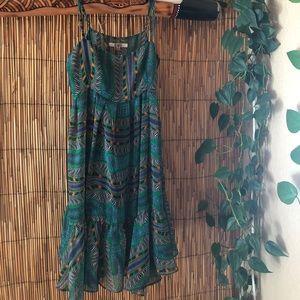 BB Dakota Aboriginal print dress, size s