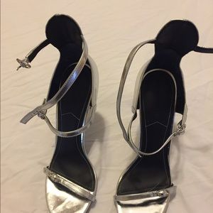 Shoes - 8.5 Sililver Heels