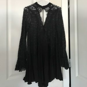 ✖️Free People Lace Long Sleeve Tunic Dress ✖️