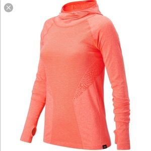New balance for J. Crew seamless hooded pullover