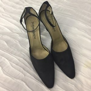 Gorgeous!  YSL ankle strap pumps, never been worn.