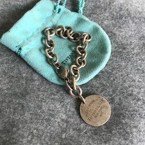 Return To Tiffany Round Tag Bracelet