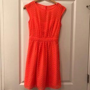Jcrew neon dress