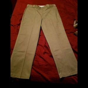 Men's tan dress pants