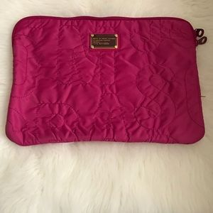 Marc by Marc Jacobs Dark Pink Laptop Bag
