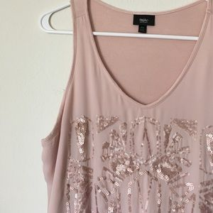 Tops - Mossimo tank- blush pink- medium