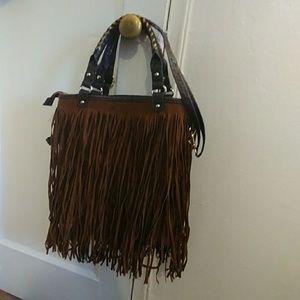 Vintage Fringe crossbody bag