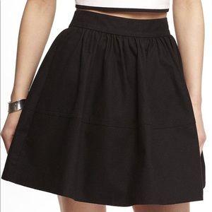 Express black bubble skirt