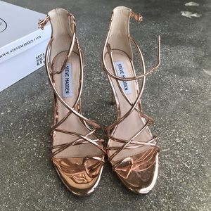 Rose Gold Satya heel