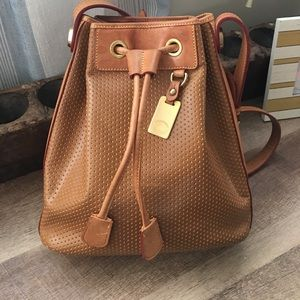 Dooney and Bourke Leather drawstring bag