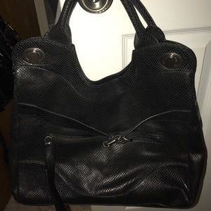 Jet Setter tote! Black 🦎. Great condition.